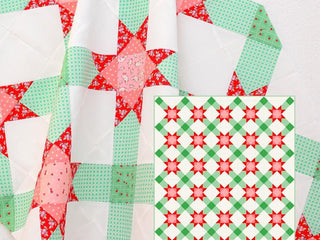 Load image into Gallery viewer, Pattern, Winter Stars Quilt by Ellis & Higgs (digital download)