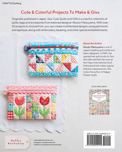 PATTERN BOOK, Sew Cute Quilts and Gifts by Atsuko Matsuyama