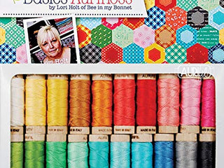 Load image into Gallery viewer, AURIFLOSS, Bee Basics 20 Spool Collection - Aurifil Embroidery Floss Thread by Lori Holt