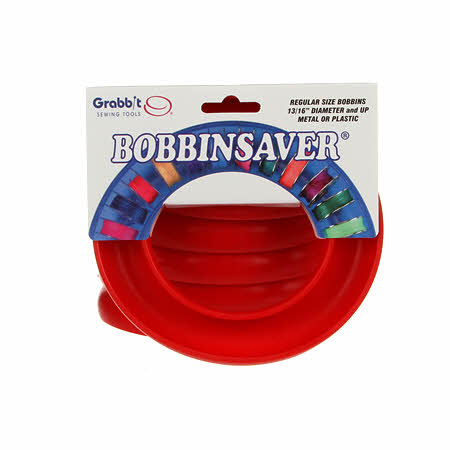 Bobbin Saver By GRABBIT - ROUND RED