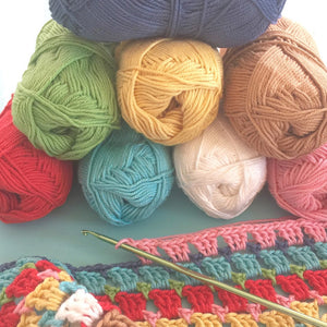 Crochet Chunky Thread, Lori Holt Sampler Pack #4
