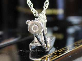 Load image into Gallery viewer, Jewelry, Singer Featherweight 221 Sterling Silver, NECKLACE