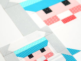 Load image into Gallery viewer, Pattern, Nautical Captain Quilt Block by Ellis & Higgs (digital download)