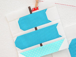 Load image into Gallery viewer, Pattern, Nautical Sail Boat Quilt Block by Ellis & Higgs (digital download)