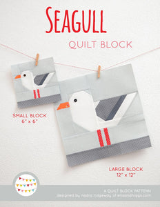 Pattern, Nautical Sea Gull Quilt Block by Ellis & Higgs (digital download)