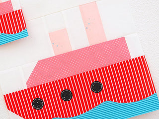 Load image into Gallery viewer, Pattern, Nautical Steamship Quilt Block by Ellis & Higgs (digital download)