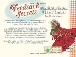Load image into Gallery viewer, Book, Feedsack Secrets Fashion From Hard Times-Gloria Nixon