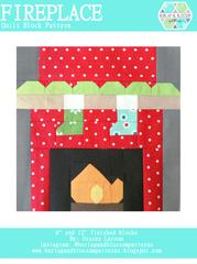 Pattern SET, Christmas Themed Quilt Blocks by Burlap and Blossom (digital download)
