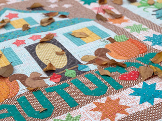 Load image into Gallery viewer, AUTUMN LOVE Sew Simple Shapes by Lori Holt of Bee in My Bonnet