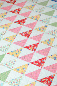 Pattern, Rainbow Geese Quilt by Ellis & Higgs (digital download)