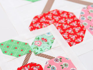 Load image into Gallery viewer, Pattern, Cherry Quilt Block by Ellis & Higgs (digital download)