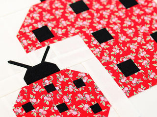 Load image into Gallery viewer, Pattern, Ladybug Quilt Block by Ellis & Higgs (digital download)