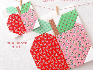 Load image into Gallery viewer, Pattern, Apple Quilt Block by Ellis & Higgs (digital download)