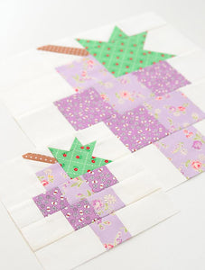Pattern, Grapes Quilt Block by Ellis & Higgs (digital download)