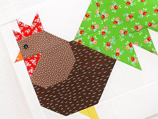 Load image into Gallery viewer, Pattern, Rooster Quilt Block by Ellis & Higgs (digital download)