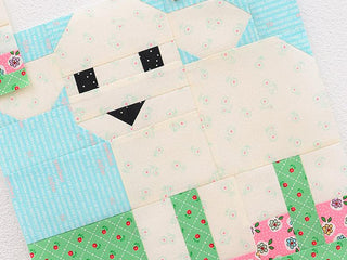 Load image into Gallery viewer, Pattern, Little Lamb Quilt Block by Ellis & Higgs (digital download)