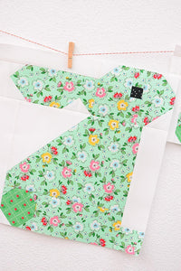 Pattern, Standing Bunny Rabbit Quilt Block by Ellis & Higgs (digital download)
