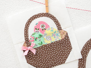 Load image into Gallery viewer, Pattern, Easter Basket Quilt Block by Ellis & Higgs (digital download)