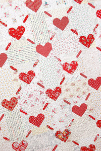 Pattern, Love is All Around Quilt by Ellis & Higgs (digital download)