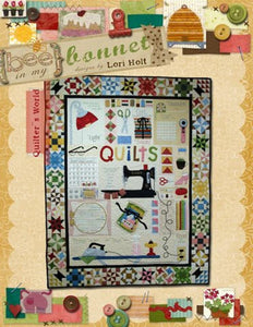 PATTERN, FEATHERWEIGHT QUILTER'S WORLD by Lori Holt of Bee in my Bonnet