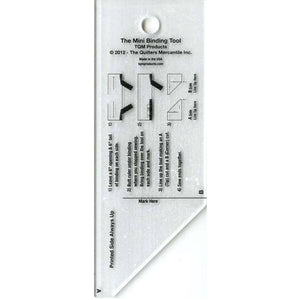 Cutting Ruler, The Binding Tool Template Ruler - MINI