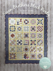 PATTERN BOOK , Seven Brothers Block Party