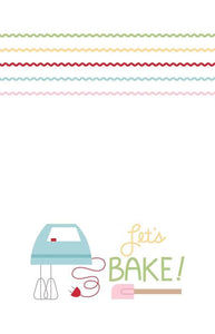 Let's Bake Tea Towel by Lori Holt of Bee in my Bonnet