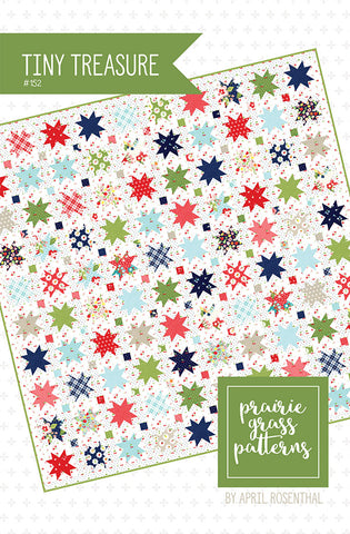 PATTERN, Prairie Grass Patterns by April Rosenthal - TINY TREASURE #152