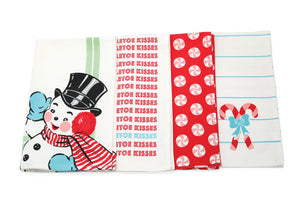 Sweet Christmas Tea Towels Set of 4 by Urban Chiks