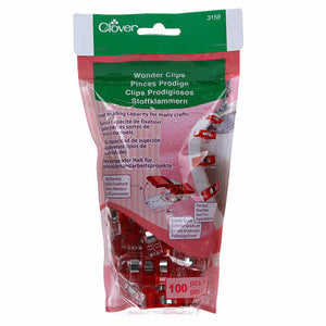Wonder Clips, LARGE BAG of 100 ct. - Red