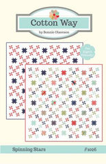 Load image into Gallery viewer, PATTERN, SPINNING STARS from Cotton Way by Bonnie Olaveson #1026