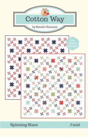 PATTERN, SPINNING STARS from Cotton Way by Bonnie Olaveson #1026