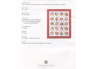 Load image into Gallery viewer, PATTERN, VINTAGE BLOSSOM Quilt pattern by Missouri Star
