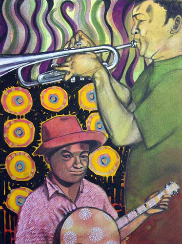 Jazz:  Banjo and Trumpet
