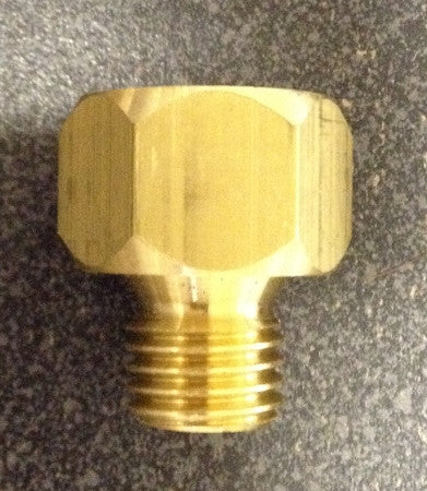 "Metric PreLube Adapter - 1/8""NPT to M12x1.5m"
