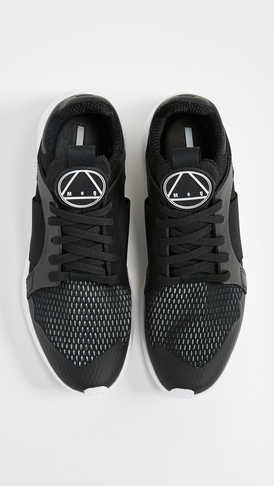 MCQ ALEXANDER MCQUEEN GISHIKI LOW SNEAKERS BLACK