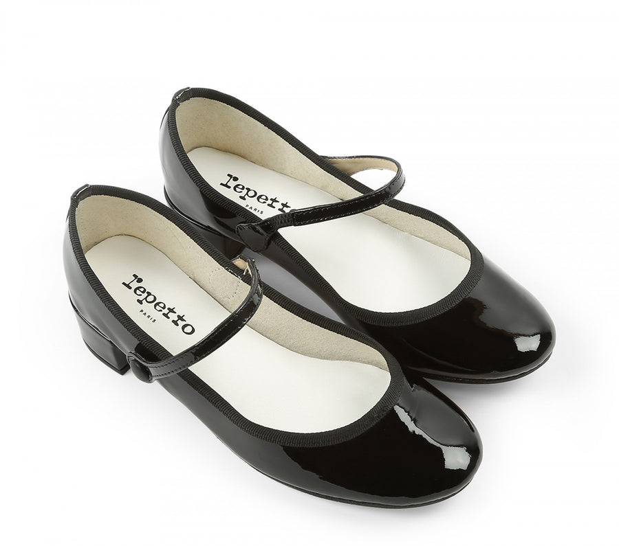 REPETTO ROSE MARY JANE PUMPS BLACK