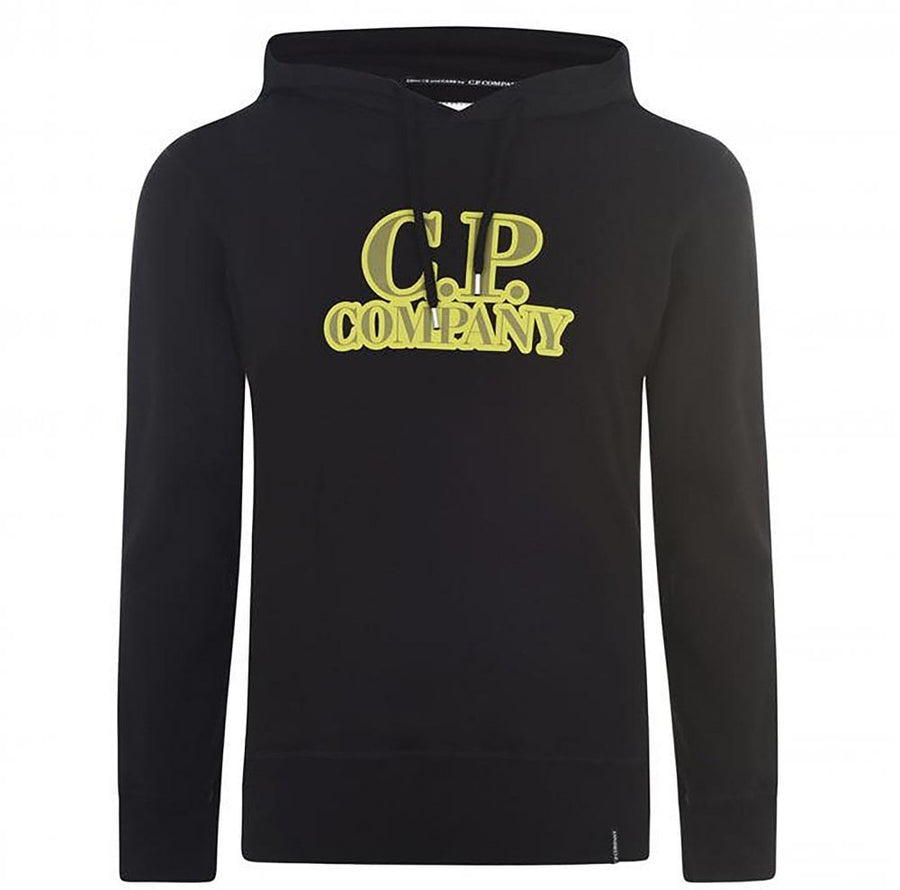 C.P. COMPANY COMICS AND CARS COLLECTION HOODIE BLACK