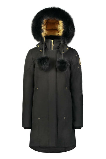 MOOSE KNUCKLES GRAND MÉTIS PARKA BLACK W/ BLACK