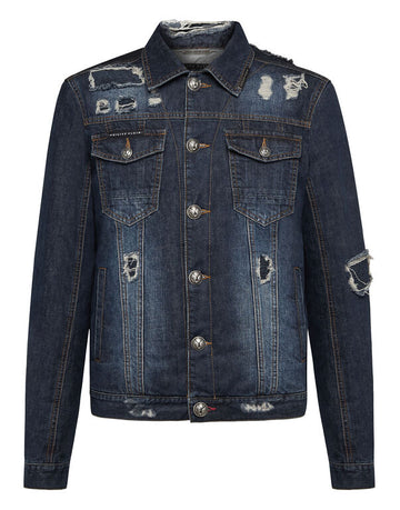 PHILIPP PLEIN DENIM JACKET STATEMENT