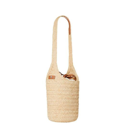 HELEN KAMINSKI CAMARILLO S BRIDLE RAFFIA BAG NATURAL/TAN