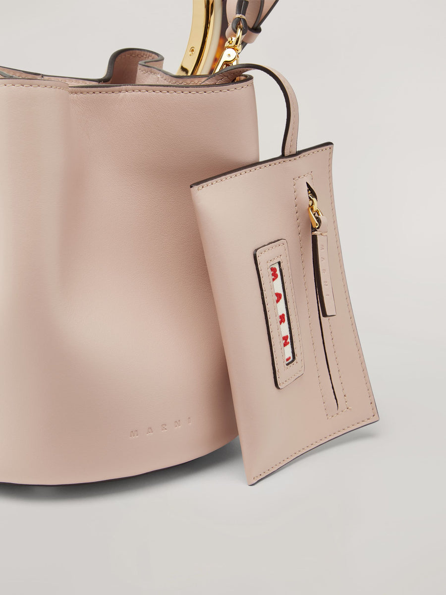 MARNI PANNIER BUCKET BAG PINK