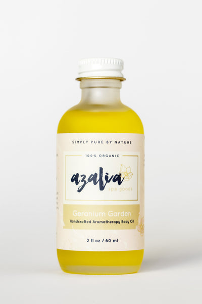 Geranium Garden Body Oil