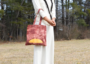 NATURAL DYE CLOUD TOTES!