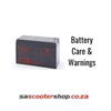 Battery Care & Warnings