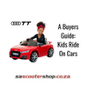 Buyers Guide: Kids Ride on Cars