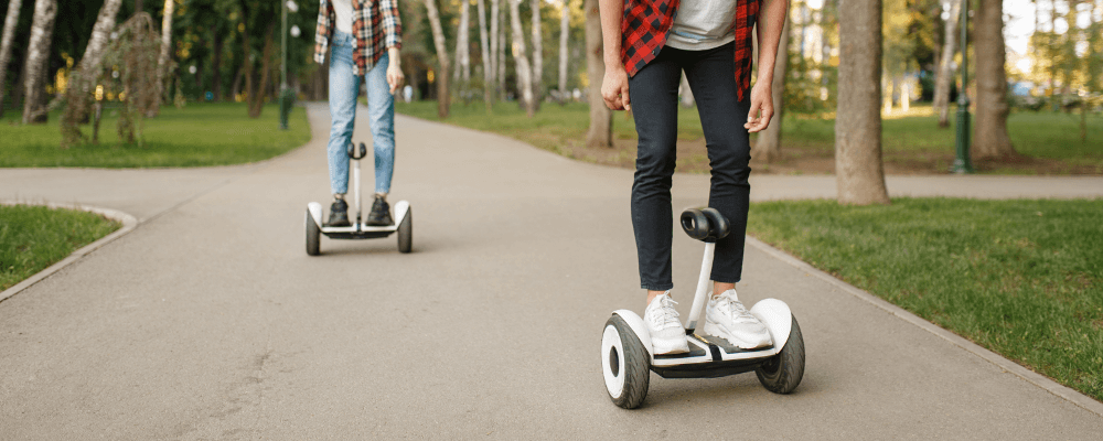 fun on a hoverboard