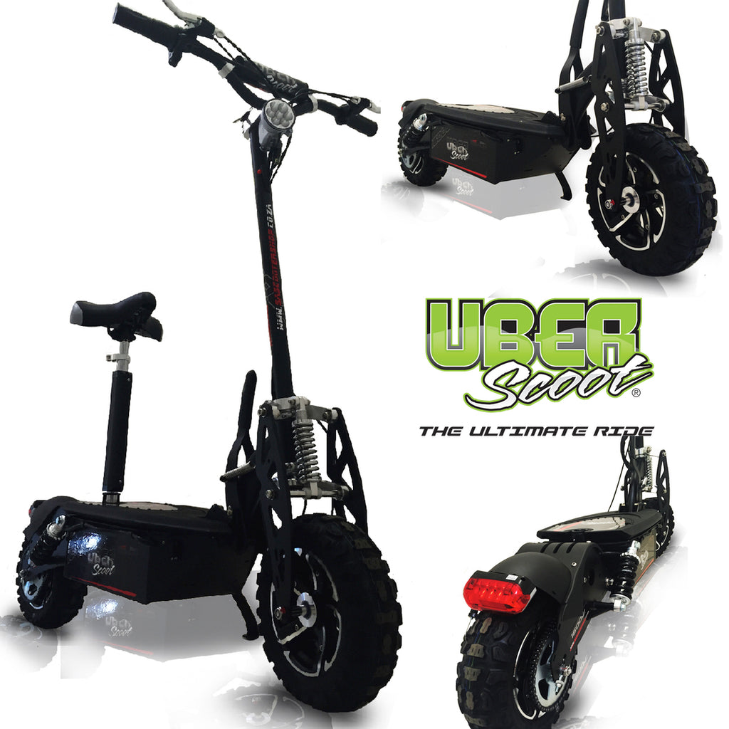 Uber Scoot 1600 Watt 48V Electric Scooter ELECTRIC SCOOTERS- SA SCOOTER SHOP