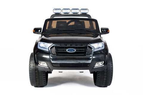 Image of Ford Ranger F650 (Black) ride on car, 4 Wheel drive and Rubber tyres KIDS RIDE ON ELECTRIC CARS- SA SCOOTER SHOP