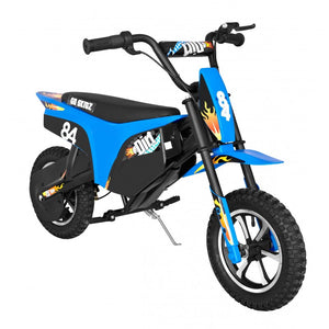 DEMO GO SKITZ eDIRT BIKE-BLUE